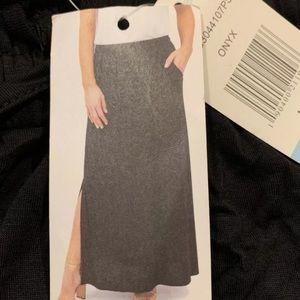 NWT Design History black maxi skirt elastic waist